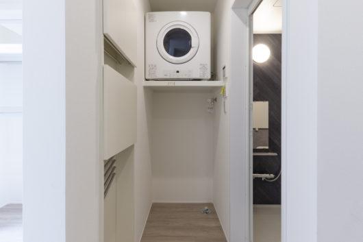 大人気のガス衣類乾燥機『乾太くん』が標準装備。洗濯物を干す手間から解放されます!