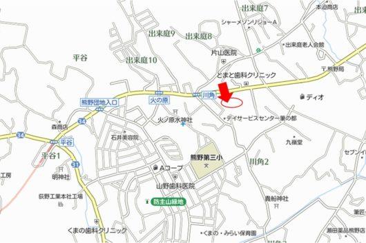 住所:安芸郡熊野町川角1丁目。広島・呉・東広島の3方面への利便性も抜群で人気上昇中のエリア。